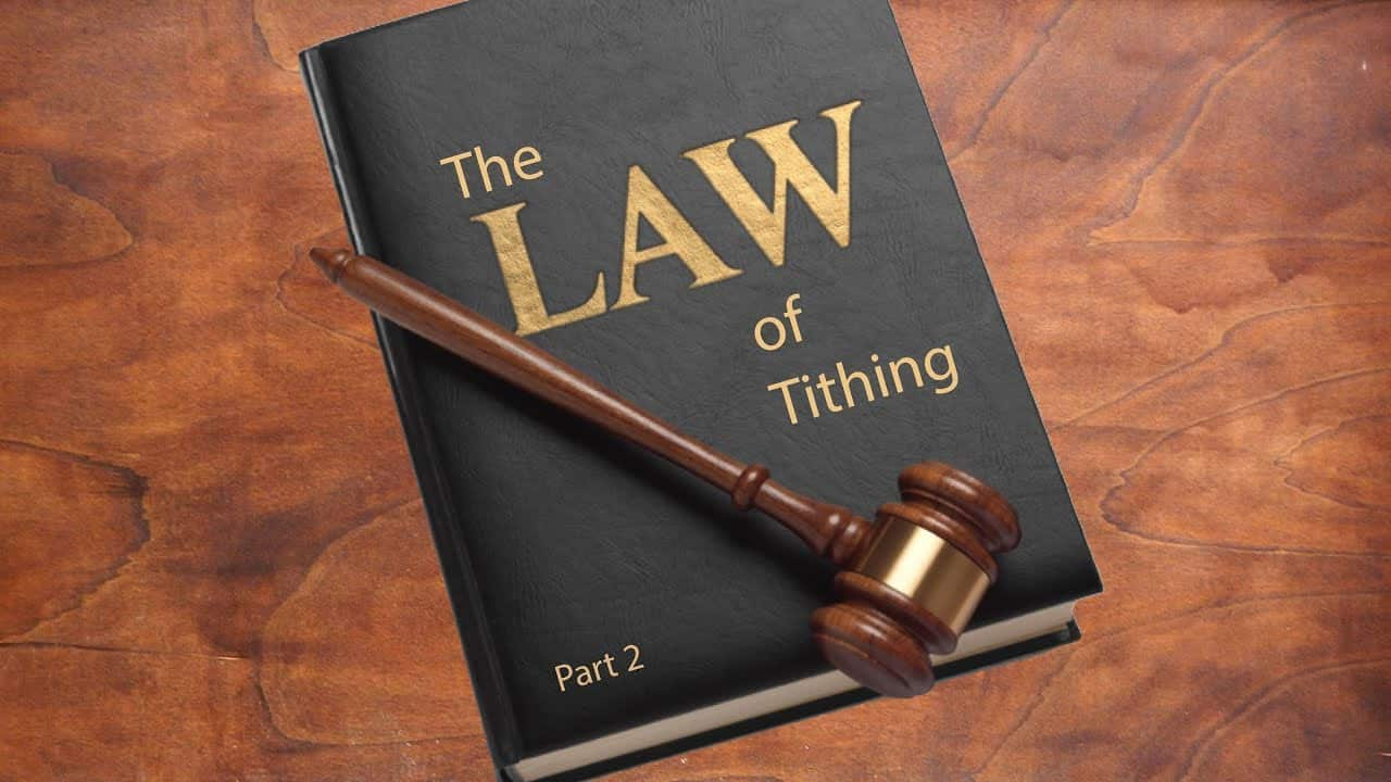 The Law of Tithing