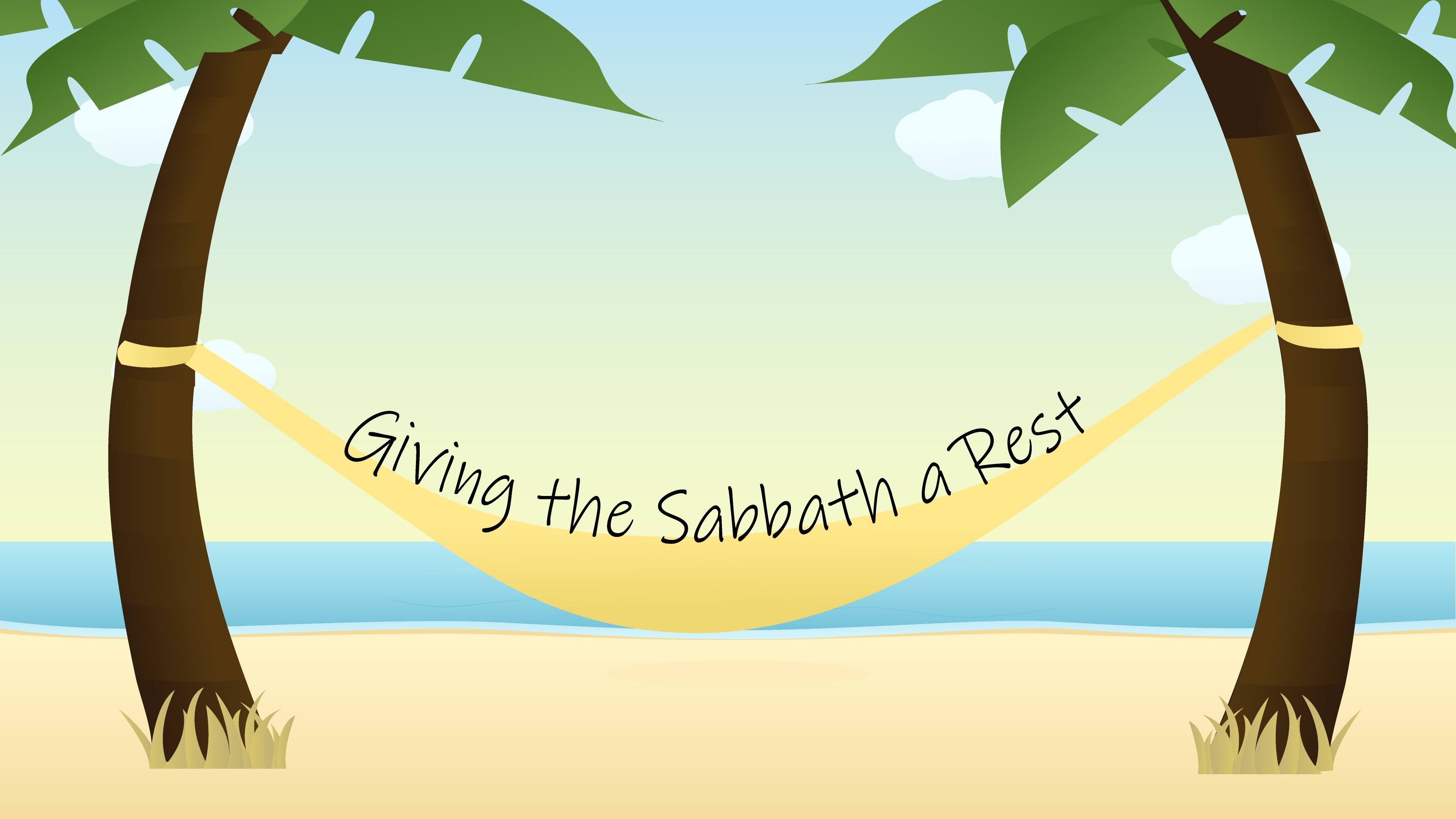 Giving the Sabbath a Rest