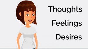 Thoughts Feelings Desires