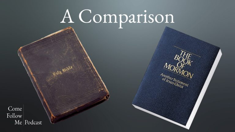 Compaing the Book of Mormon with the Bible