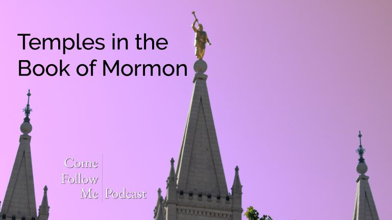 Temples in the Book of Mormon