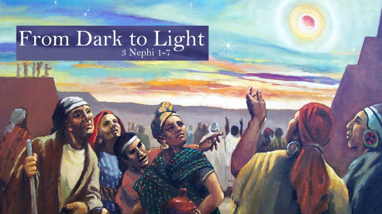 From Dark to Light Dark Skinned Lamanites