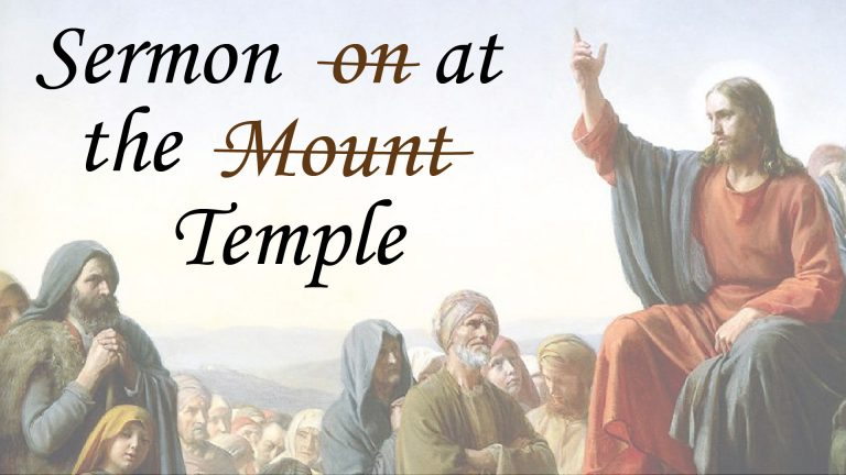 3 Nephi 12-16 | Sermon at the Temple
