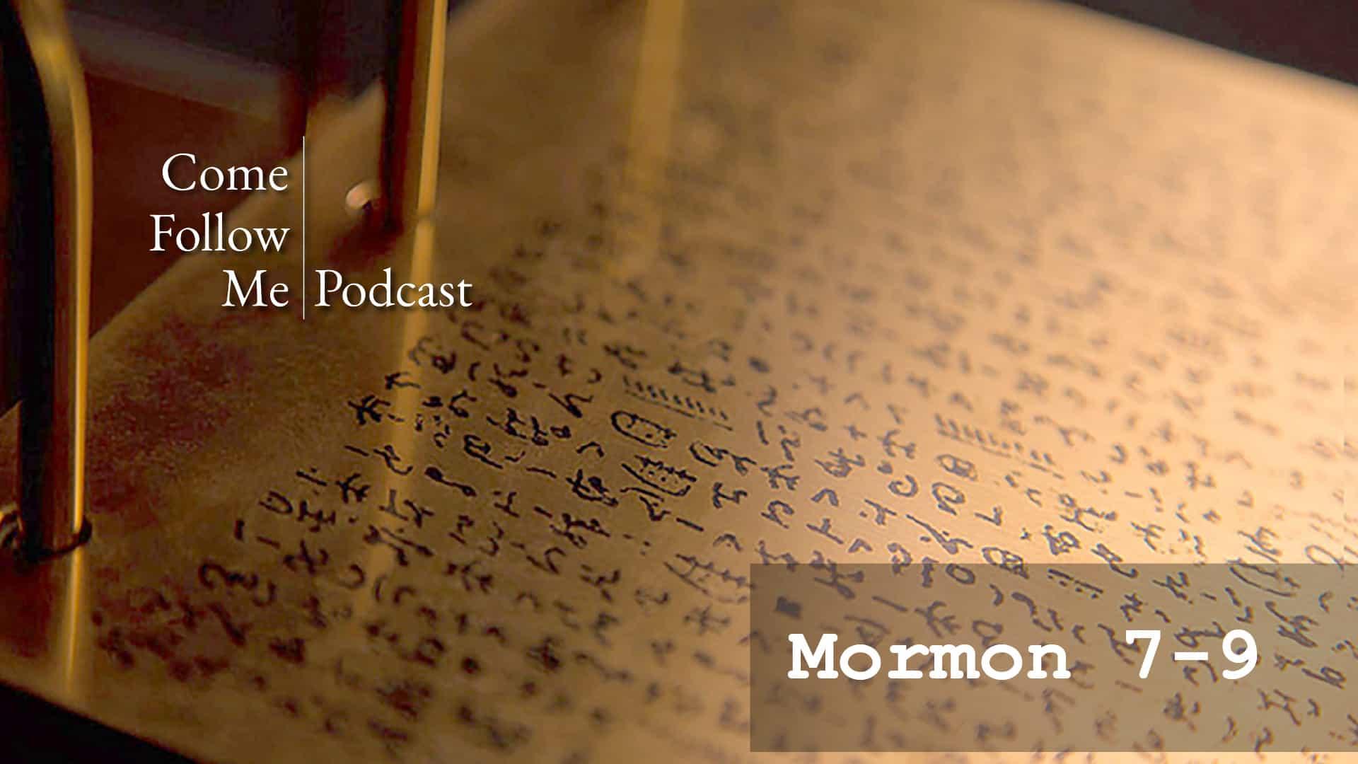 Mormon 7-9