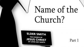 Name of the Church